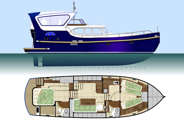 Freedom 43 ft/hull 05