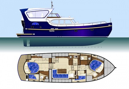 Freedom 43 ft/hull 06